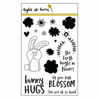 Right At Home - Clear Acrylic Stamps - Bunny Hugs