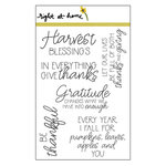 Right At Home - Clear Acrylic Stamps - Be Thankful