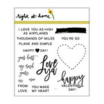 Right At Home - Clear Acrylic Stamps - Love Ya