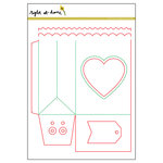 Right At Home - Dies - Folded Gift Bag