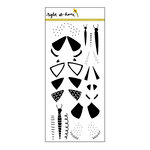Right At Home - Clear Acrylic Stamps - Fluttering By