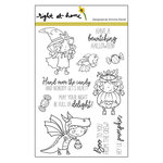 Right At Home - Halloween - Clear Acrylic Stamps - Boo Crew