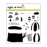 Right At Home - Clear Acrylic Stamps - Forest Findings