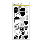 Right At Home - Clear Acrylic Stamps - Quirky Acorns
