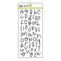 Right At Home - Clear Acrylic Stamps - Doodle Alphabet