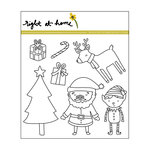 Right At Home - Christmas - Clear Acrylic Stamps - Santa's Helpers