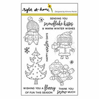 Right At Home - Clear Acrylic Stamps - Winter Pals