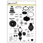 Right At Home - Clear Acrylic Stamps - Bells and Baubles