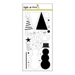 Right At Home - Clear Acrylic Stamps - Christmas Critters