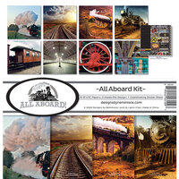 Reminisce - All Aboard Collection - Collection Kit