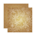 Reminisce - A Christmas Story Collection - 12 x 12 Double Sided Paper - Twilight Snowflake