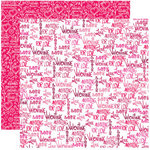 Reminisce - Anything For Love Collection - 12 x 12 Double Sided Paper - Anything For Love