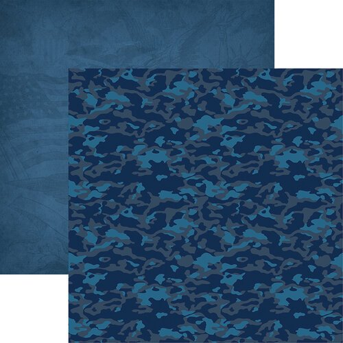 Reminisce - Air Force Collection - 12 x 12 Double Sided Paper - 4