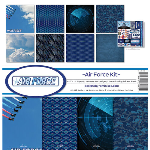 Reminisce - Air Force Collection - 12 x 12 Collection Kit