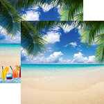 Reminisce - All Inclusive Vacation Collection - 12 x 12 Double Sided Paper - Paradise