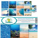 Reminisce - All Inclusive Vacation Collection - 12 x 12 Collection Kit