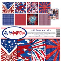 Reminisce - All American Collection - 12 x 12 Collection Kit