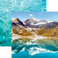 Reminisce - Alaska Cruise Collection - 12 x 12 Double Sided Paper - Glacier Bay