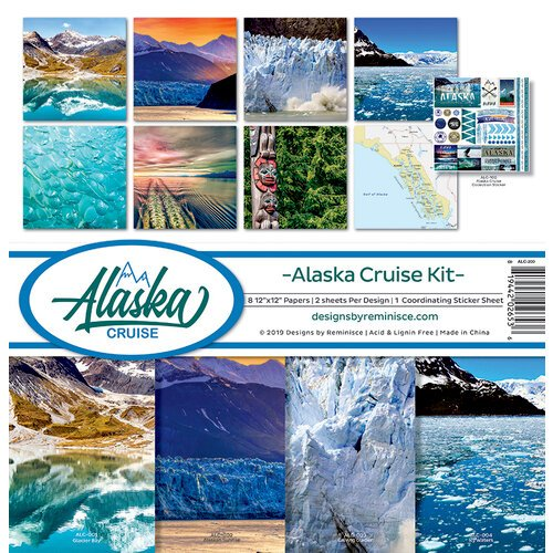 Reminisce - Alaska Cruise Collection - 12 x 12 Collection Kit