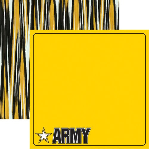 Reminisce - Army Collection - 12 x 12 Double Sided Paper - Army