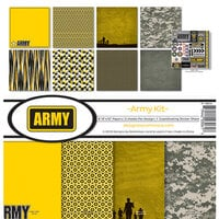 Reminisce - Army Collection - 12 x 12 Collection Kit