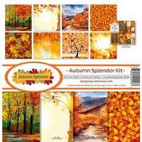 Reminisce - Autumn Splendor Collection - 12 x 12 Collection Kit