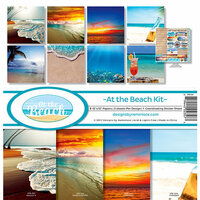 Reminisce - At the Beach Collection - 12 x 12 Collection Kit