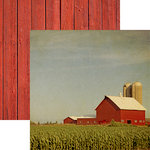 Reminisce - At the Farm Collection - 12 x 12 Double Sided Paper - At the Farm