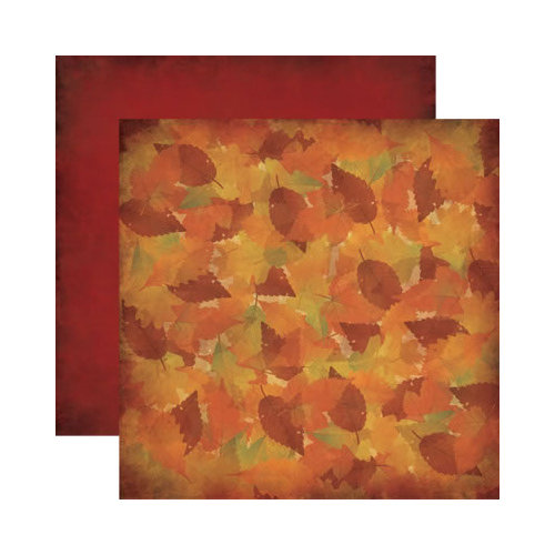 Reminisce - Autumn Harvest Collection - 12 x 12 Double Sided Paper - Colors of Autumn