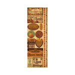Reminisce - Autumn Harvest Collection - Cardstock Stickers - Combo