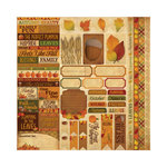 Reminisce - Autumn Harvest Collection - 12 x 12 Cardstock Stickers - Variety