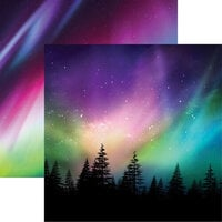 Reminisce - 12 x 12 Double Sided Paper - Aurora Borealis