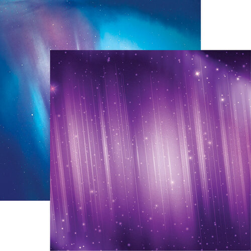 Reminisce - 12 x 12 Double Sided Paper - Northern Lights