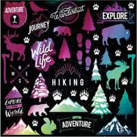 Reminisce - 12 x 12 Cardstock Stickers - Aurora