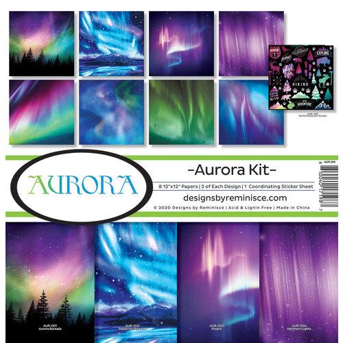 Reminisce - 12 x 12 Collection Kit - Aurora