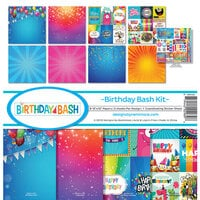 Reminisce - Birthday Bash Collection - 12 x 12 Collection Kit