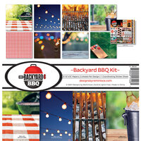 Reminisce - Backyard BBQ Collection - 12 x 12 Collection Kit