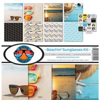 Reminisce - Beachin' Sunglasses Collection - 12 x 12 Collection Kit