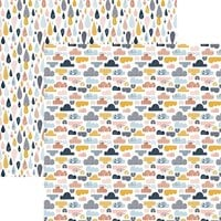 Reminisce - Be Kind Collection - 12 x 12 Double Sided Paper - Choose Happy
