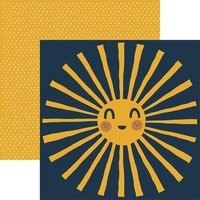 Reminisce - Be Kind Collection - 12 x 12 Double Sided Paper - Sunshine
