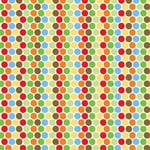 Reminisce - Boys Gone Wild Collection - Patterned Paper - Big Boy Dots, CLEARANCE