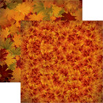 Reminisce - Best of Harvest Collection - 12 x 12 Double Sided Paper - Fall Colors