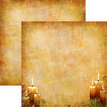 Reminisce - Best of Harvest Collection - 12 x 12 Double Sided Paper - Harvest Glow