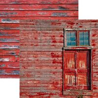 Reminisce - Barnwood Beauty Collection - 12 x 12 Double Sided Paper - Sheet 02