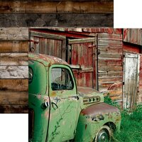 Reminisce - Barnwood Beauty Collection - 12 x 12 Double Sided Paper - Sheet 04