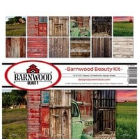 Reminisce - Barnwood Beauty Collection - 12 x 12 Paper Pack