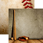 Reminisce - Baseball 2 Collection - 12 x 12 Double Sided Paper - Play Ball