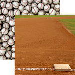 Reminisce - Baseball 2 Collection - 12 x 12 Double Sided Paper - Infield