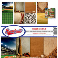 Reminisce - Baseball 2 Collection - 12 x 12 Collection Kit