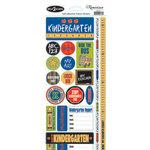 Reminisce - Back to School Collection - Sticker - Kindergarten